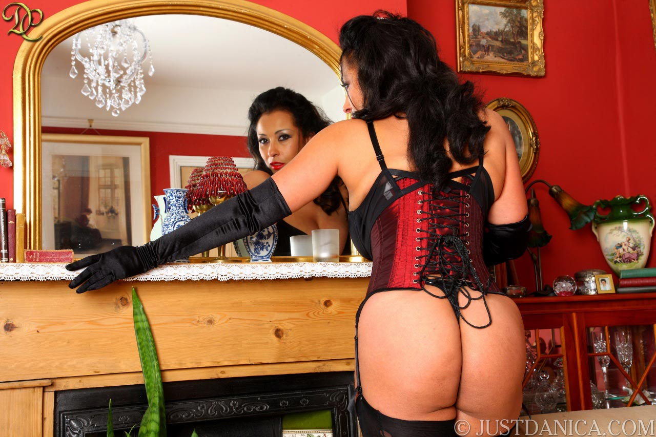 Would you like to tighten that corset for Danica Collins?