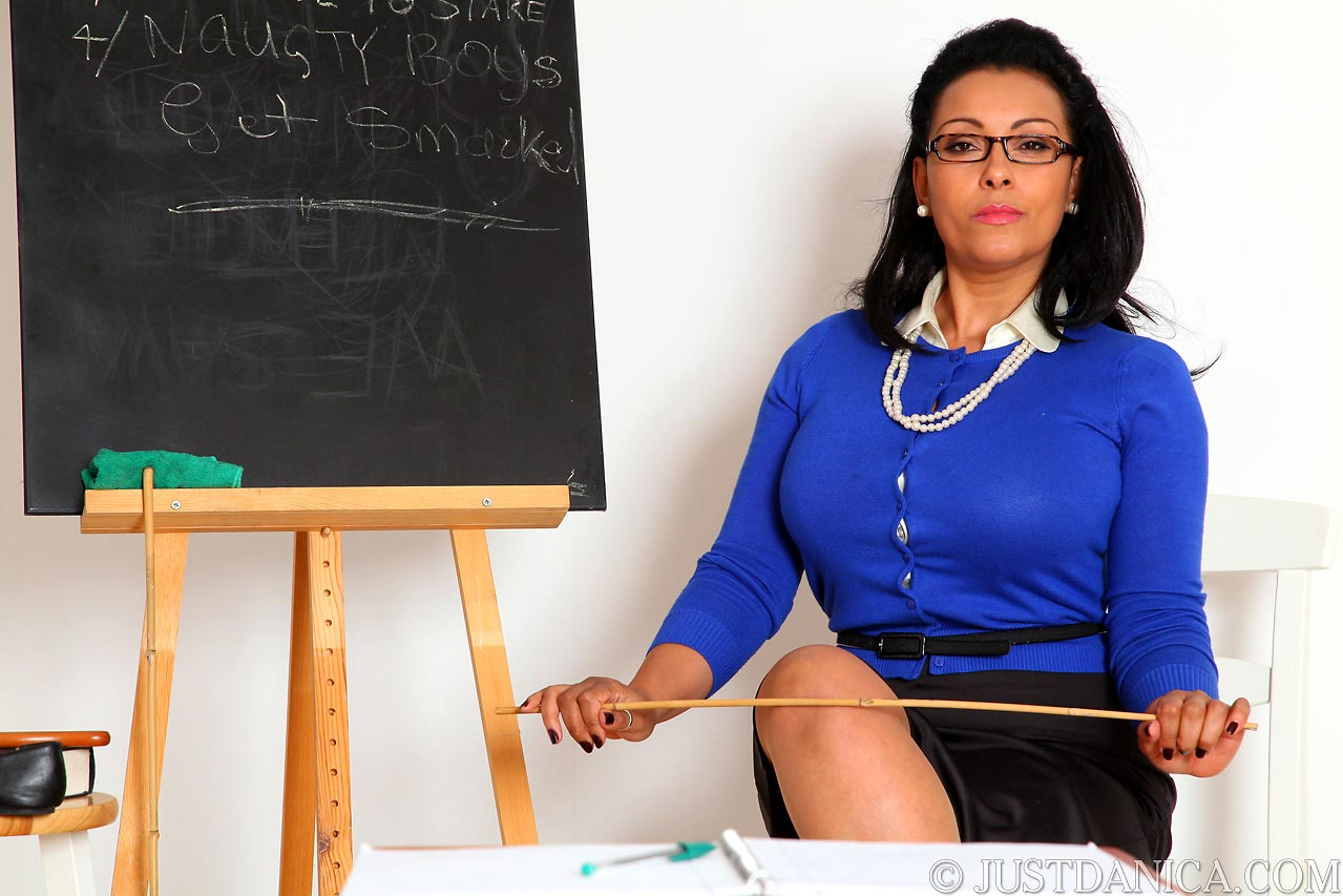 Come in and join the class of strict Miss Collins