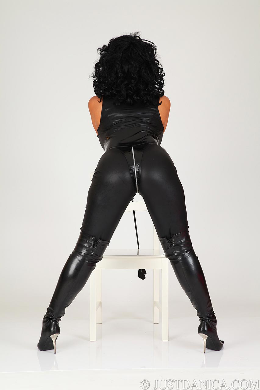 Would you like to slap that tight butt of dominatrix Danica?