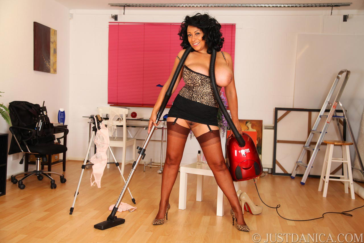 Danica Collins is up for housekeeping when wearing no panties
