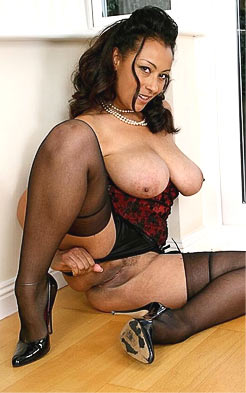 Danica Collins showing her shaved pussy