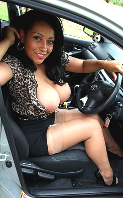 Danica Collins would love to join you on the back seat