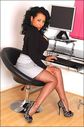 Danica Collins enjoys being a secretary